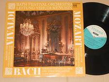 YEHUDI MENUHIN - Mozart Bach Vivaldi - LP  Eterna STEREO 825705 near mint