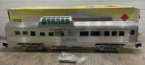 Aristo-Craft 32605 Santa Fe Streamlined Vista Dome Car #501 - Metal Wheels EX