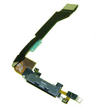 IPhone 4S USB Charging Dock  Port Flex Cable + Mic Replacement  Part Black UK