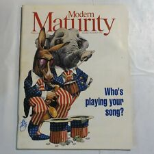 Modern Maturity Magazine October/November 1992 Who's Playing Your Song E7