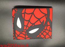 Marvel New Spider-Man: Homecoming Wallet Bifold Zipper Coin Money Purse Holder