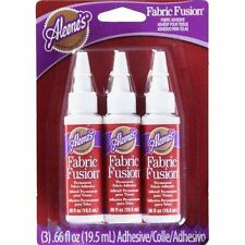 Aleene's 32140 Fabric Fusion Glue 3-pack