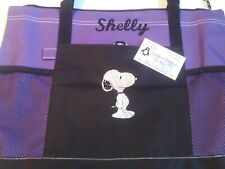 Snoopy Personalized Tote Bag Any color Snoopy Tote Bag