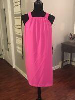 Felicity & Coco Women's Fuchsia Pink Racerback Dress Size XL NWT