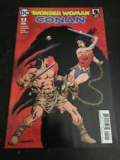Wonder Woman/Conan#2 Incredible Condition 9.4(2017) Lopeesti Cover!!