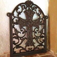 Wall Ornament Celtic cross as Covering Air Vent F Fireplace Kaminplatte