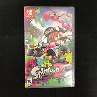 Splatoon 2 (Nintendo Switch, 2017) BRAND NEW / Region Free / US Version
