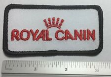 """Vintage """"Royal Canin"""" Employee Embroidered Patch, Animal Pet Food"""