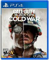 Call of Duty: Black Ops Cold War PS4/ PS 5 DVD (Fast ship)