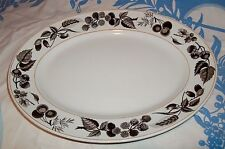 Ridgway Bountiful Oval Serving Platter , Staffordshire England
