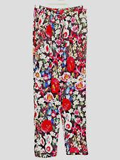 Zara Floral Été Pantalon M