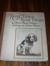 More details for large diana thorn illustrated dog book scottish saluki boston terrier etchings