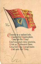 uk40144 royal ensing uk war military patriotic propaganda britain  coat of arms
