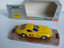 Box Model 8429 Ferrari 275 GTB4 Rally M. Carlo '66  Die Cast Boxed  Vintage