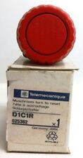 TELEMECANIQUE,  E-STOP PUSH-BUTTON, D1C1R, RED, NEW IN BOX