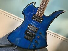 B.C. RICH NJ series Mockingbird floyd rose Blue NO RESERVE