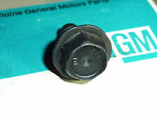 NOS Corvette Coil To Intake Mount Bolt Original Dimple E Rare 65 66 67 396 427