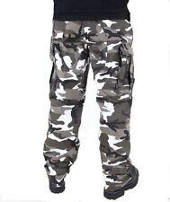Pantaloni da uomo in cotone con tasche