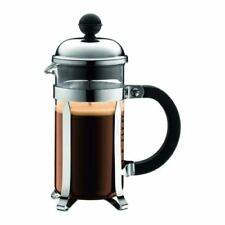 Bodum Chambord French Press Stainless Steel & Glass Coffee Maker