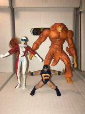 Alpha Flight Sasquatch Puck Vindicator Marvel Toy biz 1998 Action Figures