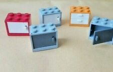 LEGO CUPBOARDS DRAWERS