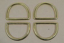 "Dee Ring - 2"" - Solid Brass - Pack of 4 (F475)"