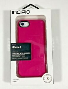 Incipio Haven LUX Case Glossy Protective Cover for iPhone 8 / 7 - Pink