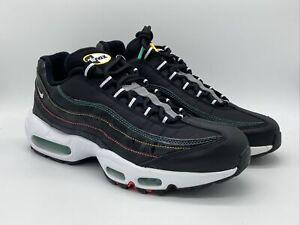 Nike Air Max 95 Premium Windbreaker Men's Sz 8.5-9 11-13 Shoes Black AJ2018 023