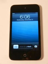Apple iPod Touch 32 GB 4th Generation - Black Front - Chrome Back