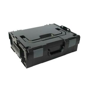 Sortimo Systemkoffer L-Boxx 136 schwarz / Industrial Line passend zu Bosch