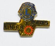 PINS ASSOCIATION LION'S CLUB ENTR' AIDS SIDA