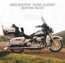 2003 HARLEY-DAVIDSON 100TH ANV FLHTCUI ULTRA CLASSIC ELECTRA GLIDE BROCHURE