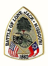 Ecusson BATTLE OF LONE JACK MISSOURI United States Union Confederate Patch USA