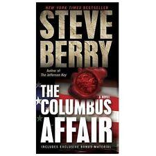 The Columbus Affair by Steve Berry (2013, Mass Market)