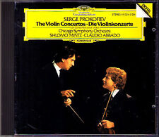 Shlomo Mintz & credesse: Prokofiev Violin Concerto 1 2 Violinkonzerte CD Claudio