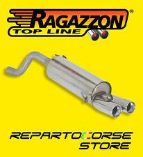 RAGAZZON TERMINALE SCARICO 2x80 ABARTH GRANDE PUNTO EVO 1.4TJET KIT ESSEESSE