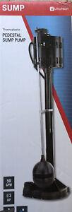 Pedestal Sump Pump - New 1/3 HP 58 GPM Utilitech