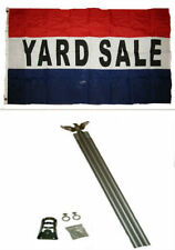 Yard Sale Sign Kit With Pricing Stickers And Change Apron A502Y Garage