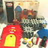 Rare Vintage 1990 Little Tikes Wee Waffle Castle 48 Pc - Complete Set No Manual
