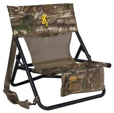Turkey Hunting Chair Camo Hunter Chairs Hunt Low Profile Pockets Sturdy Folding