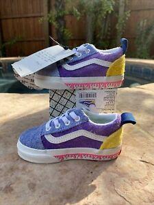 NWT Vans Old Skool Elastic Anderson Paak Ziti Toddler Sneaker 5.5T No Box Lid