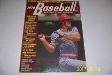 1974 STREET and SMITH's Cincinnati Reds PETE ROSE 136 Pages HANK AARON #715 BABE