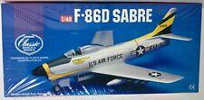 LINDBERG CLASSIC F-86D SABRE JET FIGHTER PLANE PLASTIC MODEL KIT #70503