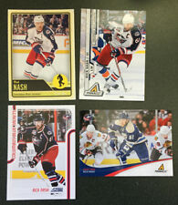4 Rick Nash Cards 2 2011-12 [Score #146, Pinnacle #61] 2012-13 OPC #492, 2010-11