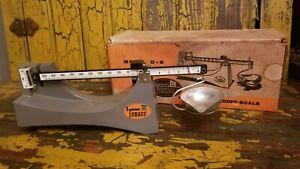 Vintage Lyman OHAUS Powder Scale D-5  Precision Loading Scale