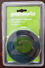 Greenworks 2936602 Dual Line Bump Feed Replacement Spool Trimmer Line 0.080-Inch
