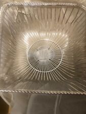 Silver Plated Wire Basket New in Box