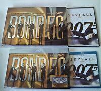 James Bond 50 Celebrating Five Decades of Bond +Skyfall 007 Choice of DVD or Blu