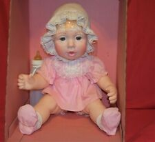 Vintage Rare Judith Turner Real  Baby Doll by Hasbro Blonde in Box NRFB