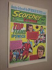 SCORCHER & SCORE. 18th DEC 1971. BOY'S FOOTBALL COMIC.